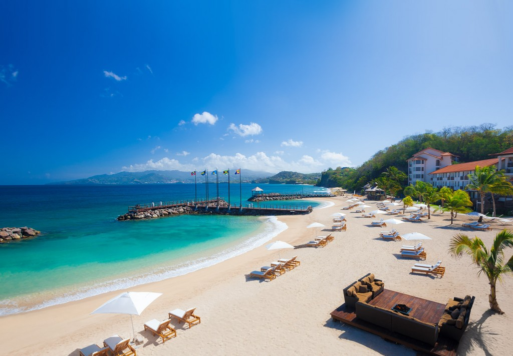 Sandals Grenada Beach