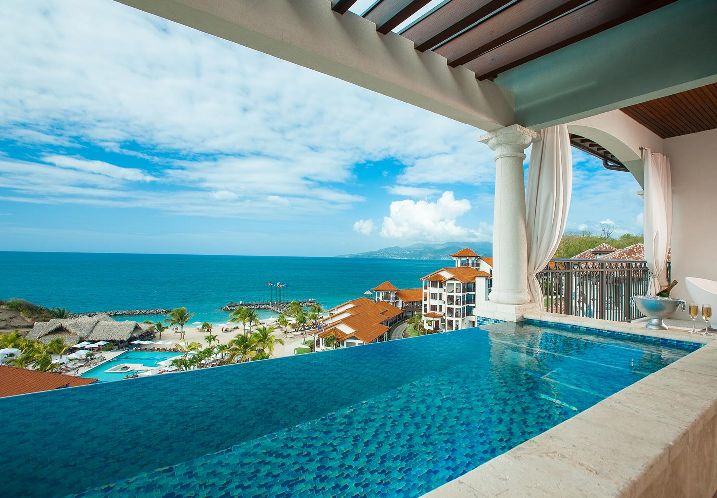 Sandals Grenada Beach Skypool