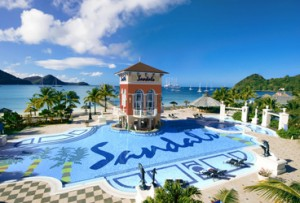 Sandals Grande St. Lucian Pool