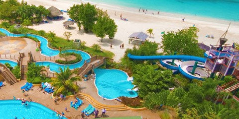 Beaches Negril Pool and Slide